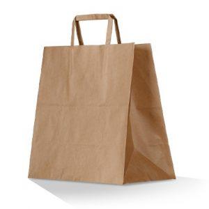 Take away paper bag