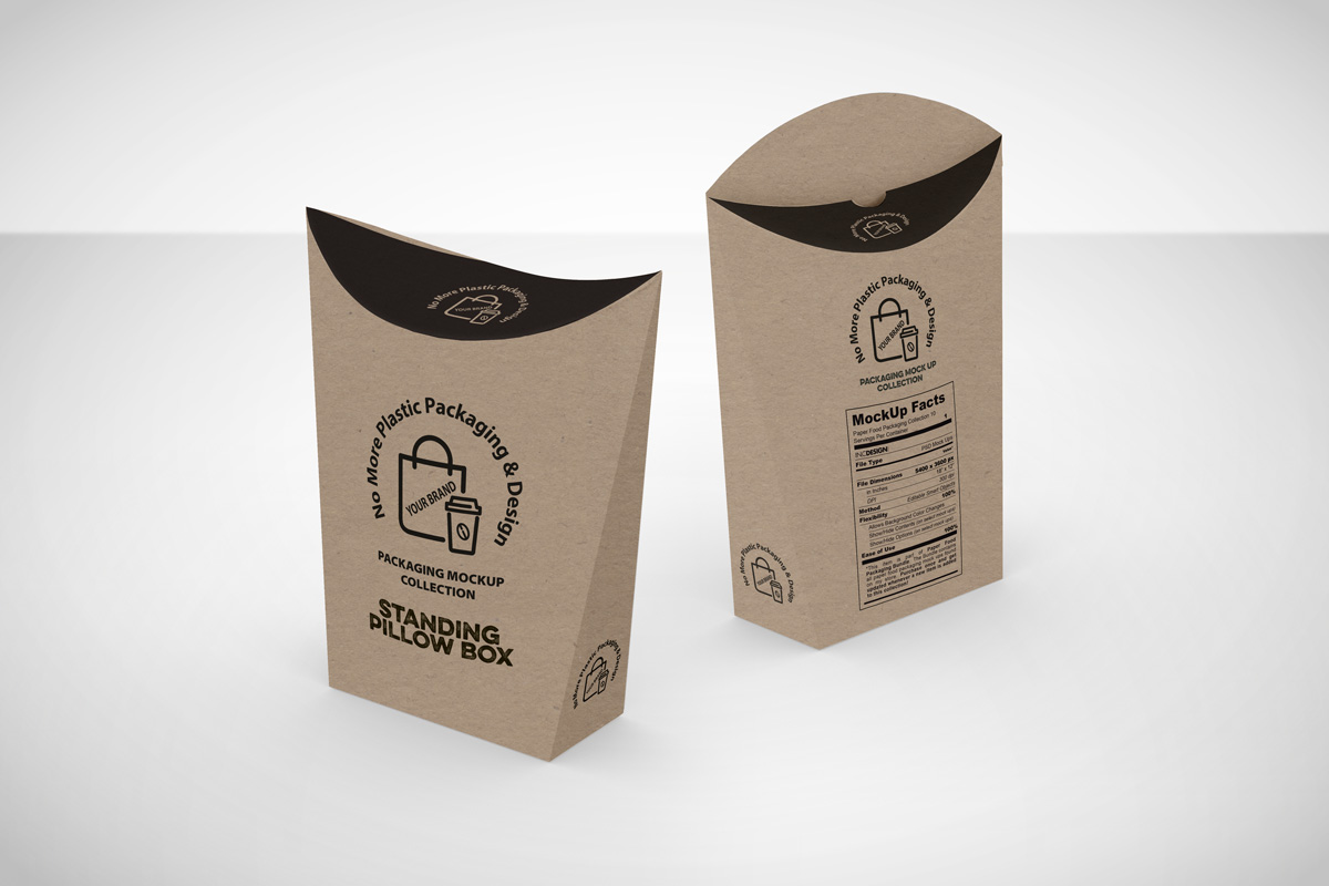 standing pillow boxes