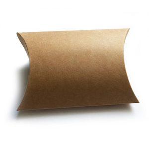 Brown Kraft Pillow Box Large