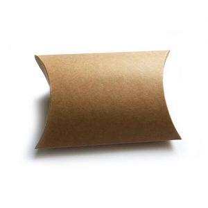 Brown Kraft Pillow Box Medium