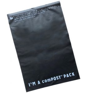 large compostable courier bags