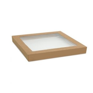 kraft catering lid small