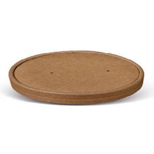 kraft paper salad bowl lid