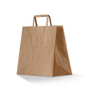 Kraft Brown Takeway Bags