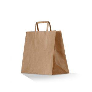 kraft takeaway bag small