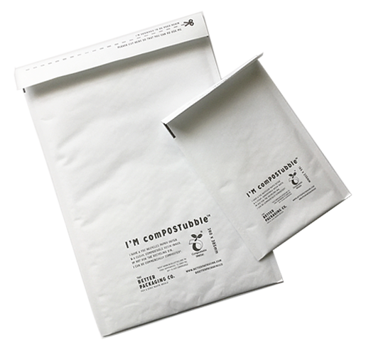 Compostable padded mailers