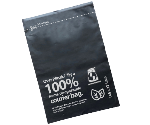 custom compostable courier bags