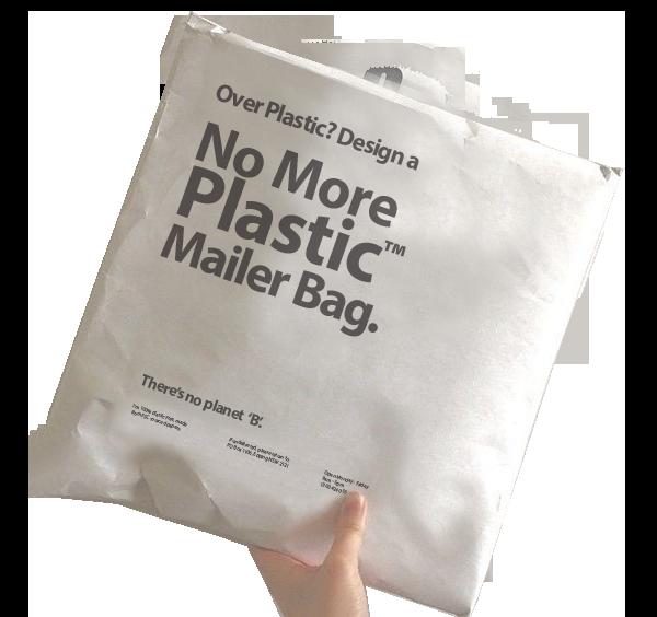 design your own kraft mailer bags